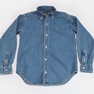 Ralph Lauren Boy's Denim Shirt